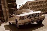 Limuzinu nuoma  3. Cadillac DeVille   12 мест    Безупречный, красивый и удобный. Элегантный лимузин белого цвета, которым Вы на самом деле останетесь довольны.
