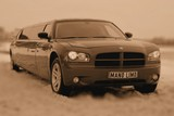 Limuzinu nuoma   1. DODGE CHARGER       10seats  It's a particular, expressive and aristocratic appearance. The interior is shapely and considered in detail, the cabin is cosy. The perfect appearance is both from exterior and interior