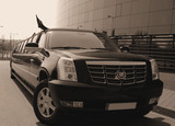 Limuzinu nuoma   4.CADILLAC ESCALADE           From 22 seats    Magnificent view, exclusive and cosy interior, it attracts the attention of surrounding people and charms them. This is a limousine, which has its own exclusive style, which will not leave anybody indifferent.