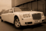 Limuzinu nuoma   4. CHRYSLER 300 C       12 seats   It's a particular, expressive and aristocratic appearance. The interior is shapely and considered in detail, the cabin is cosy. The perfect appearance is both from exterior and interior.