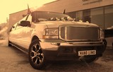 Limuzinu nuoma   1. FORD EXCURSION       20 seats   Magnificent view, exclusive and cosy interior, it attracts the attention of surrounding people and charms them. This is a limousine, which has its own exclusive style, which will not leave anybody indifferent.
